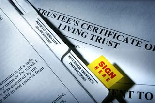 Living-trust-certificate