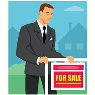 For sale man in suite
